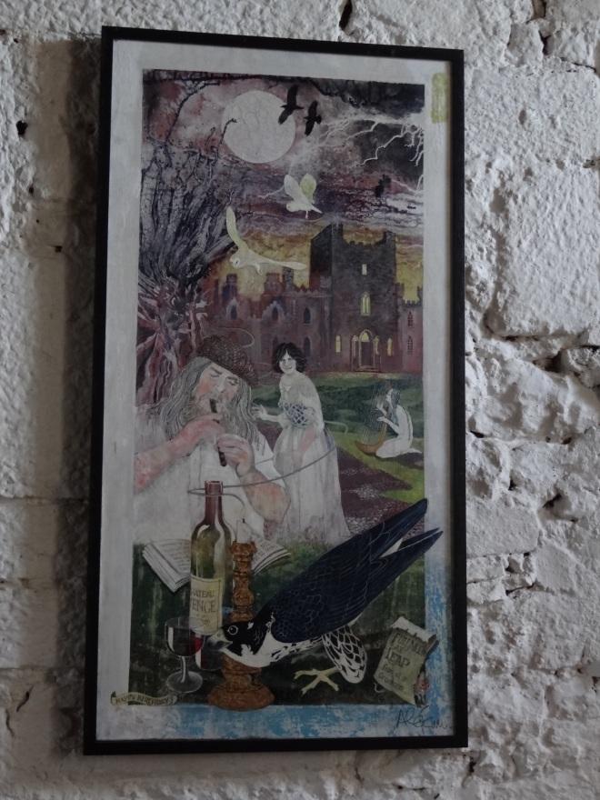 Leap Castle, most haunted castle in Ireland, cast oubliette, castle elemental, Vanta M. Black, oubliette, oubliette the book, elemental, tour of castle, tour of Leap Castle, writer Vanta M. Black, inside a castle, castle Ireland, Oubliette a forgotten little place